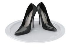 θηλυκά παπούτσια του s διανυσματική απεικόνιση