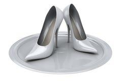 θηλυκά παπούτσια του s ελεύθερη απεικόνιση δικαιώματος