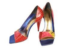 θηλυκά παπούτσια χρώματο&sigm Στοκ φωτογραφία με δικαίωμα ελεύθερης χρήσης