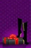 θηλυκά προκλητικά παπούτ&sig διανυσματική απεικόνιση