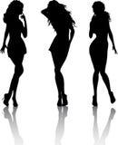 θηλυκά προκλητικά Στοκ Εικόνα
