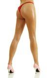 θηλυκά πόδια προκλητικά Στοκ εικόνα με δικαίωμα ελεύθερης χρήσης