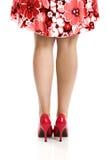 θηλυκά πόδια Στοκ Φωτογραφίες