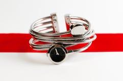 θηλυκά ρολόγια Στοκ φωτογραφία με δικαίωμα ελεύθερης χρήσης