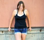 Θηλυκές εκφράσεις ομορφιάς στοκ εικόνα με δικαίωμα ελεύθερης χρήσης