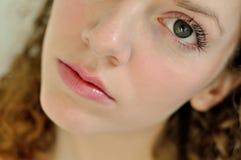 θηλυκές λυπημένες νεολ& Στοκ Φωτογραφίες