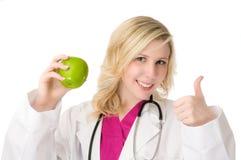 θηλυκές νεολαίες γιατρών Στοκ Εικόνες