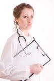 θηλυκές νεολαίες νοσοκόμων γιατρών Στοκ Εικόνες