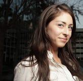θηλυκές νεολαίες headshot Στοκ εικόνα με δικαίωμα ελεύθερης χρήσης