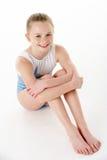 θηλυκές gymnast νεολαίες στο στοκ εικόνα