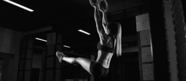 Θηλυκή άσκηση αθλητών ικανότητας Στοκ Εικόνα
