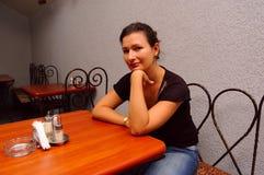 θηλυκή αναμονή Στοκ εικόνα με δικαίωμα ελεύθερης χρήσης