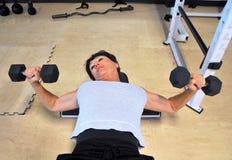 Θηλυκή ομορφιά workout Στοκ εικόνα με δικαίωμα ελεύθερης χρήσης