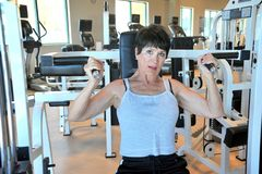Θηλυκή ομορφιά workout Στοκ Φωτογραφία
