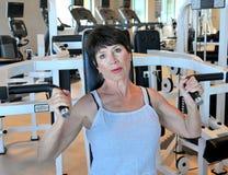 Θηλυκή ομορφιά workout Στοκ Φωτογραφίες