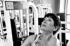 Θηλυκή ομορφιά workout Στοκ Εικόνες