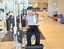 Θηλυκή ομορφιά workout Στοκ φωτογραφία με δικαίωμα ελεύθερης χρήσης