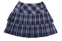 θηλυκή plaid φούστα Στοκ εικόνες με δικαίωμα ελεύθερης χρήσης