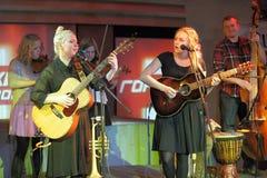 Θηλυκοί κιθαρίστες Στοκ φωτογραφία με δικαίωμα ελεύθερης χρήσης