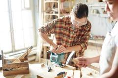 Θηλυκοί ξυλουργοί στοκ φωτογραφία με δικαίωμα ελεύθερης χρήσης