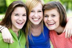 θηλυκοί φίλοι Στοκ Εικόνες