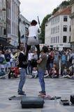 ΘΗΛΥΚΟΣ ΔΙΑΣΚΕΔΑΣΤΗΣ ΟΔΩΝ Στοκ Φωτογραφία
