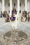 Θηλυκός αμερικανικός Ινδός Στοκ φωτογραφία με δικαίωμα ελεύθερης χρήσης