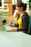θηλυκός βιβλιοθηκάριο&si στοκ φωτογραφία με δικαίωμα ελεύθερης χρήσης