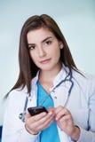 Θηλυκός γιατρός Στοκ φωτογραφία με δικαίωμα ελεύθερης χρήσης