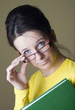 θηλυκός δάσκαλος Στοκ εικόνα με δικαίωμα ελεύθερης χρήσης