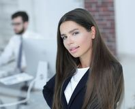 Θηλυκός διευθυντής στον εργασιακό χώρο Στοκ Φωτογραφία