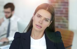 Θηλυκός διευθυντής στον εργασιακό χώρο στοκ φωτογραφία με δικαίωμα ελεύθερης χρήσης