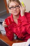 θηλυκός διευθυντής φλ&upsi Στοκ Φωτογραφία