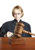 θηλυκός δικαστής Στοκ Φωτογραφίες
