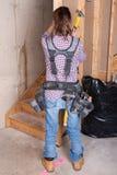 Θηλυκός εργάτης οικοδομών Στοκ Εικόνες
