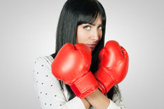 θηλυκός μαχητής Στοκ φωτογραφίες με δικαίωμα ελεύθερης χρήσης