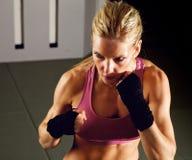 θηλυκός μαχητής Στοκ φωτογραφία με δικαίωμα ελεύθερης χρήσης