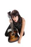 θηλυκός μουσικός Στοκ φωτογραφία με δικαίωμα ελεύθερης χρήσης