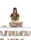 θηλυκός σπουδαστής πορτρέτου στοκ εικόνες με δικαίωμα ελεύθερης χρήσης