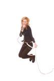 θηλυκός τραγουδιστής β& Στοκ Εικόνα