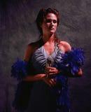 θηλυκός τραγουδιστής Στοκ φωτογραφία με δικαίωμα ελεύθερης χρήσης