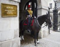 θηλυκό άλογο φρουράς Στοκ φωτογραφία με δικαίωμα ελεύθερης χρήσης