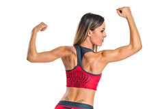 θηλυκό αθλητών Στοκ εικόνες με δικαίωμα ελεύθερης χρήσης