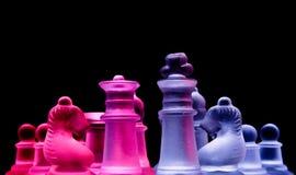 θηλυκό αρσενικό σκακιού Στοκ Φωτογραφία