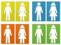 θηλυκό αρσενικό Στοκ Εικόνες