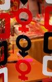 θηλυκό αρσενικό Στοκ φωτογραφίες με δικαίωμα ελεύθερης χρήσης