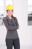 θηλυκό αρχιτεκτόνων στοκ φωτογραφία με δικαίωμα ελεύθερης χρήσης