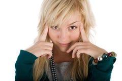 θηλυκό γέλιο Στοκ φωτογραφίες με δικαίωμα ελεύθερης χρήσης