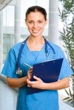 θηλυκό γιατρών Στοκ εικόνα με δικαίωμα ελεύθερης χρήσης