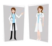 θηλυκό γιατρών ελεύθερη απεικόνιση δικαιώματος